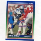 1990 Score Football #393 David Wyman - Seattle Seahawks