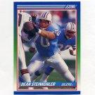 1990 Score Football #387 Dean Steinkuhler - Houston Oilers