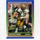 1990 Score Football #386 Ken Ruettgers - Green Bay Packers