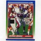 1990 Score Football #384 Michael Brooks RC - Denver Broncos
