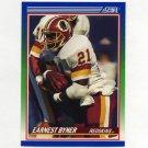 1990 Score Football #358 Earnest Byner - Washington Redskins
