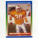 1990 Score Football #339 Mark Robinson - Tampa Bay Buccaneers