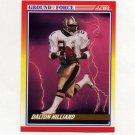 1990 Score Football #327 Dalton Hilliard GF - New Orleans Saints