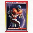 1990 Score Football #324 Bobby Humphrey GF - Denver Broncos