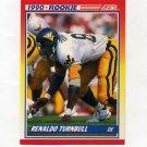 1990 Score Football #296 Renaldo Turnbull RC - New Orleans Saints