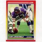 1990 Score Football #281 Kirk Lowdermilk - Minnesota Vikings