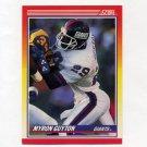 1990 Score Football #253 Myron Guyton - New York Giants