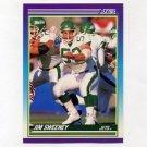 1990 Score Football #198 Jim Sweeney - New York Jets
