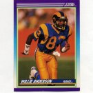 1990 Score Football #125 Flipper Anderson - Los Angeles Rams