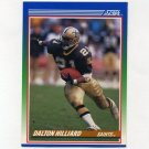 1990 Score Football #090 Dalton Hilliard - New Orleans Saints