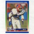 1990 Score Football #057 Andre Reed - Buffalo Bills Ex