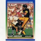 1990 Score Football #053 Gary Anderson - Pittsburgh Steelers