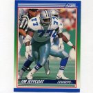 1990 Score Football #033 Jim Jeffcoat - Dallas Cowboys