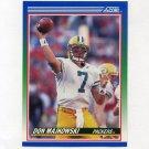 1990 Score Football #015 Don Majkowski - Green Bay Packers