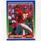 1990 Score Football #002 Christian Okoye - Kansas City Chiefs