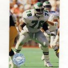 1991 Pro Set Platinum Football #288 Antone Davis RC - Philadelphia Eagles