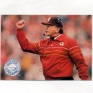 1991 Pro Set Platinum Football #284 Joe Gibbs CO - Washington Redskins