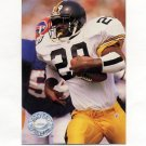 1991 Pro Set Platinum Football #258 Barry Foster - Pittsburgh Steelers
