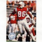 1991 Pro Set Platinum Football #231 Greg McMurtry - New England Patriots