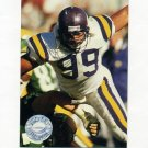 1991 Pro Set Platinum Football #227 Al Noga - Minnesota Vikings