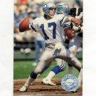 1991 Pro Set Platinum Football #112 Dave Krieg - Seattle Seahawks