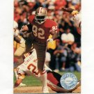 1991 Pro Set Platinum Football #107 John Taylor - San Francisco 49ers