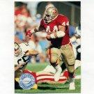 1991 Pro Set Platinum Football #106 Tom Rathman - San Francisco 49ers