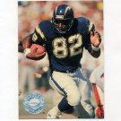 1991 Pro Set Platinum Football #103 Rod Bernstine - San Diego Chargers