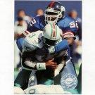 1991 Pro Set Platinum Football #082 Pepper Johnson - New York Giants