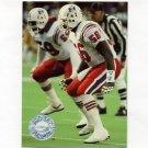 1991 Pro Set Platinum Football #073 Andre Tippett - New England Patriots