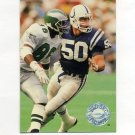 1991 Pro Set Platinum Football #047 Duane Bickett - Indianapolis Colts