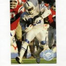 1991 Pro Set Platinum Football #046 Albert Bentley - Indianapolis Colts
