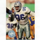 1991 Pro Set Platinum Football #026 Daniel Stubbs - Dallas Cowboys
