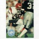 1991 Pro Set Platinum Football #018 James Francis - Cincinnati Bengals