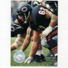 1991 Pro Set Platinum Football #012 Mark Bortz - Chicago Bears