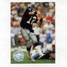 1991 Pro Set Platinum Football #001 Chris Miller - Atlanta Falcons