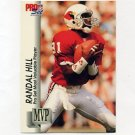 1992 Pro Set Football Gold MVPs #MVP26 Randal Hill - Phoenix Cardinals