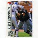 1992 Pro Set Football #544 Steve Wisniewski - Los Angeles Raiders