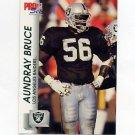 1992 Pro Set Football #536 Aundray Bruce - Los Angeles Raiders