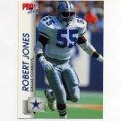 1992 Pro Set Football #477 Robert Jones RC - Dallas Cowboys
