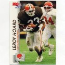 1992 Pro Set Football #466 Leroy Hoard - Cleveland Browns