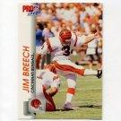 1992 Pro Set Football #455 Jim Breech - Cincinnati Bengals