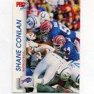 1992 Pro Set Football #438 Shane Conlan - Buffalo Bills