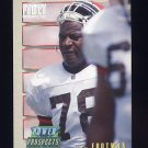 1993 Power Update Football Prospects #52 Dan Footman RC - Cleveland Browns