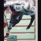 1993 Power Update Football Prospects #15 Terry Kirby RC - Miami Dolphins