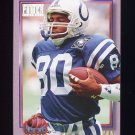 1993 Power Update Moves Football #09 Aaron Cox - Indianapolis Colts