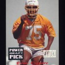 1993 Power Football Draft Picks #27 Eric Curry - Tampa Bay Buccaneers