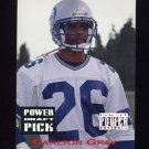 1993 Power Football Draft Picks #26 Carlton Gray - Seattle Seahawks