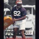 1993 Power Football Draft Picks #04 John Copeland UER - Cincinnati Bengals