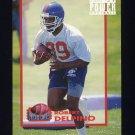1993 Power Football Power Moves #PM06 Robert Delpino - Denver Broncos